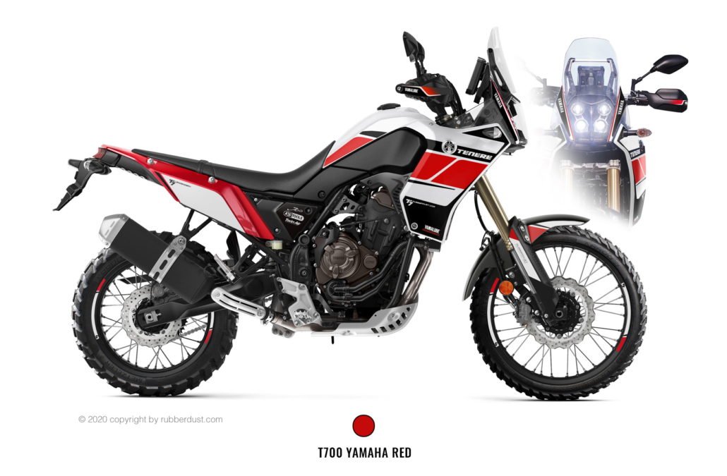Yamaha T700Z Legendary Red