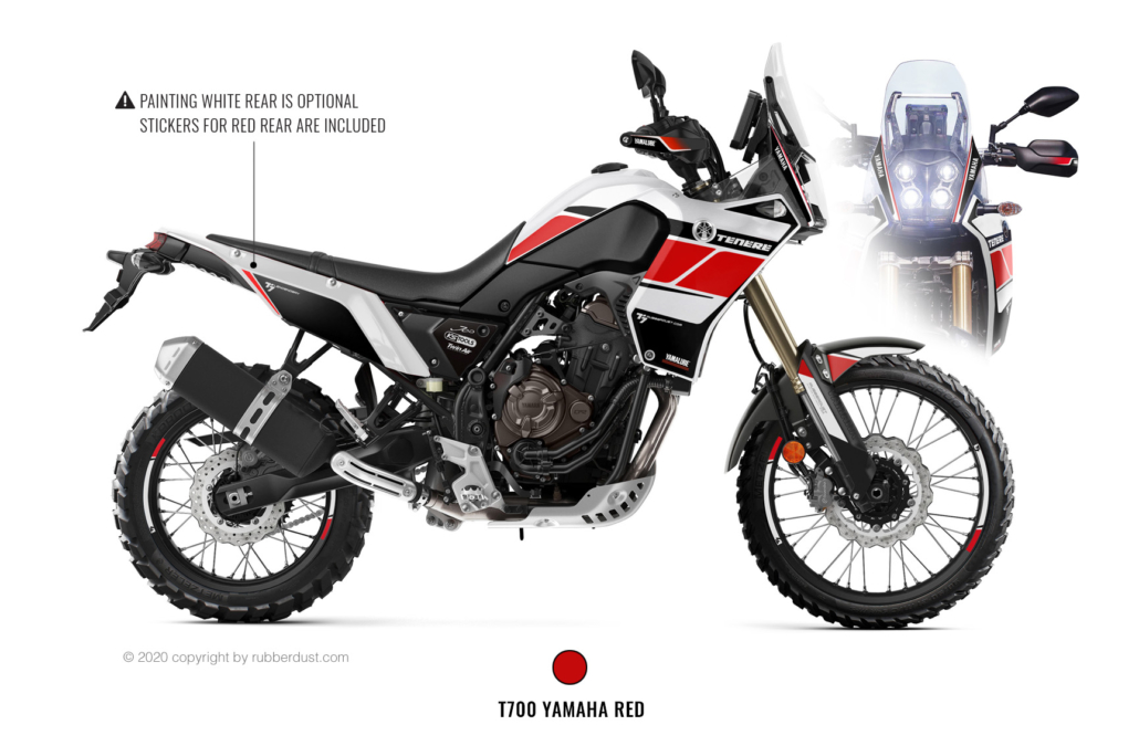Yamaha T700Z Legendary white